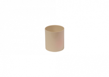 Manchon F/F PVC sable 80