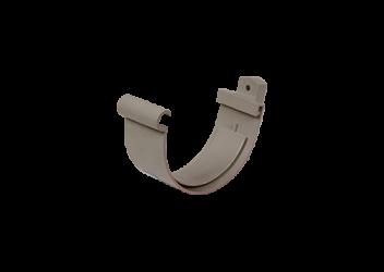 Jonction gouttière PVC Gris à coller 25