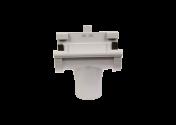 Naissance centrale PVC gris à joint 25