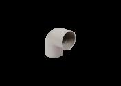 Coude 87° M/F PVC gris 80