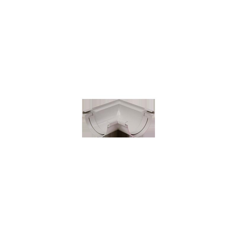 Angle universel 90 ° PVC gris à coller 25
