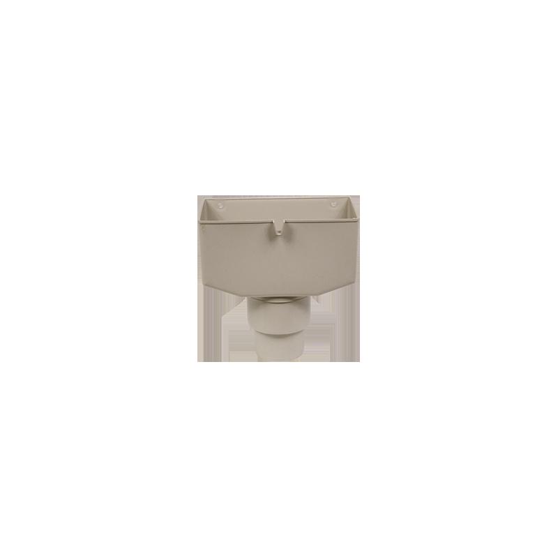 Boite à eau PVC gris 25/80