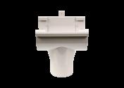 Naissance centrale PVC gris à coller 33