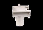 Naissance gauche PVC gris à joint 33