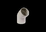 Coude 45° M/F PVC gris 100
