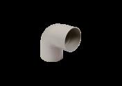 Coude 87° M/F PVC gris 100