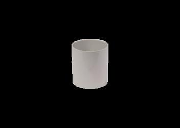 Manchon F/F PVC gris 100