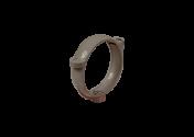 Collier de descente PVC gris 100
