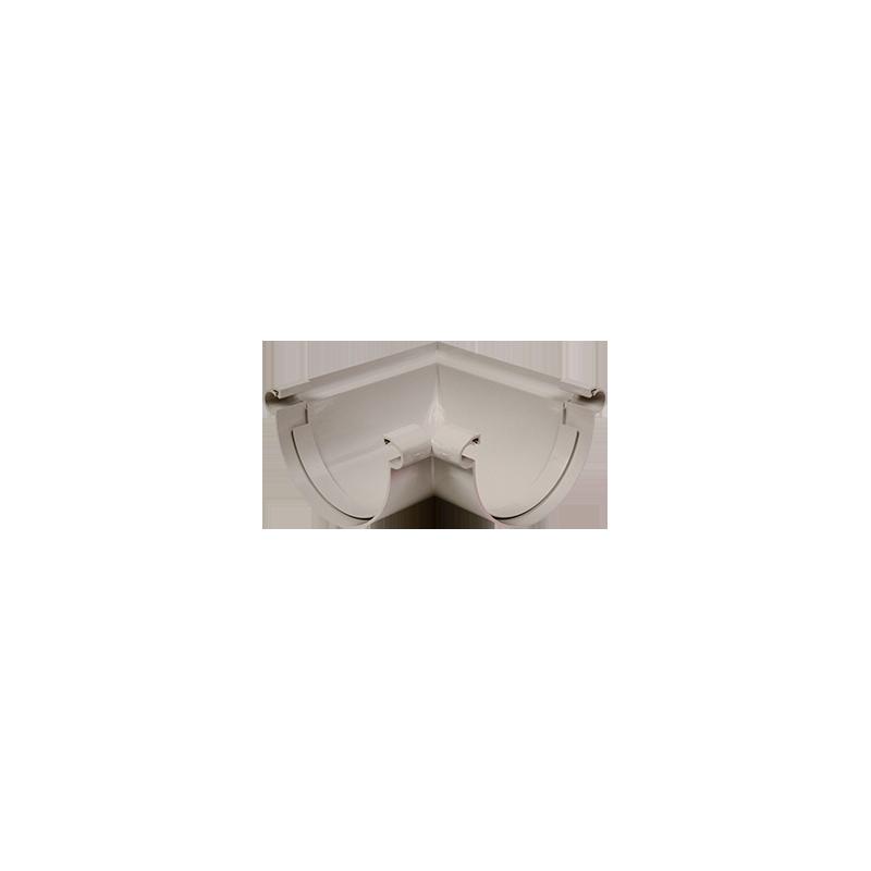 Angle universel 90 ° PVC gris à coller 33