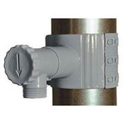Récupérateur d'eau PVC gris