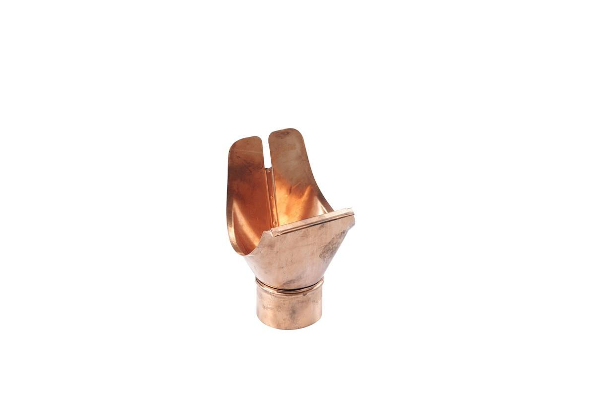 Naissance à agrafer développé 16/60 cuivre