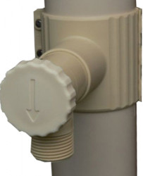 Récupérateur d'eau PVC sable