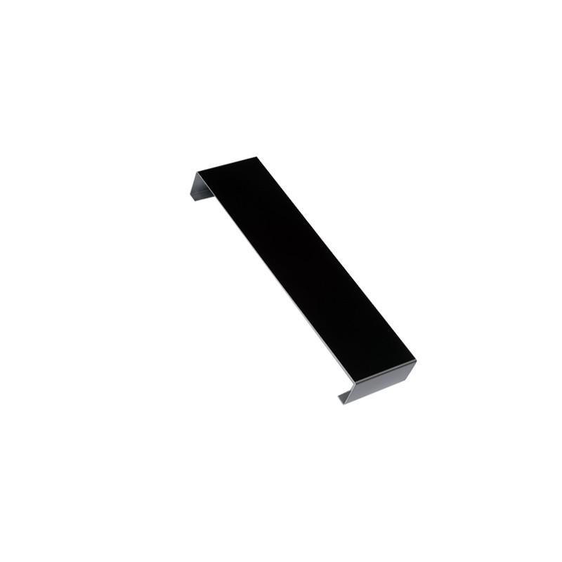 Eclisse couvertine aluminium 1 mm Noir RAL 9005