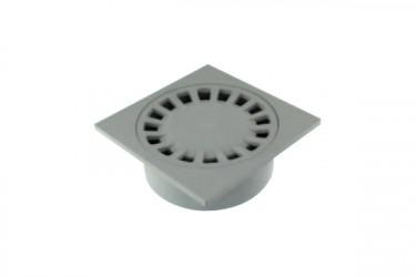 Siphon de cour sortie intégrée 150/40X50X63 gris