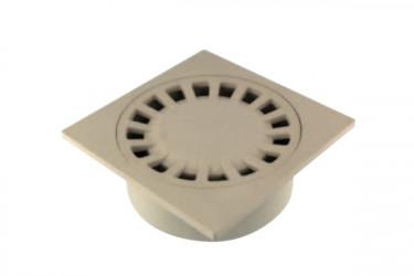 Siphon de cour sortie intégrée 150/40X50X63  sable