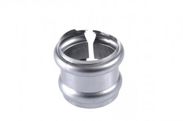 Bague double extensible  D80MM zinc