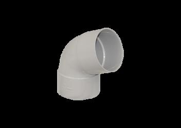 Coude 67° M/F PVC gris 80