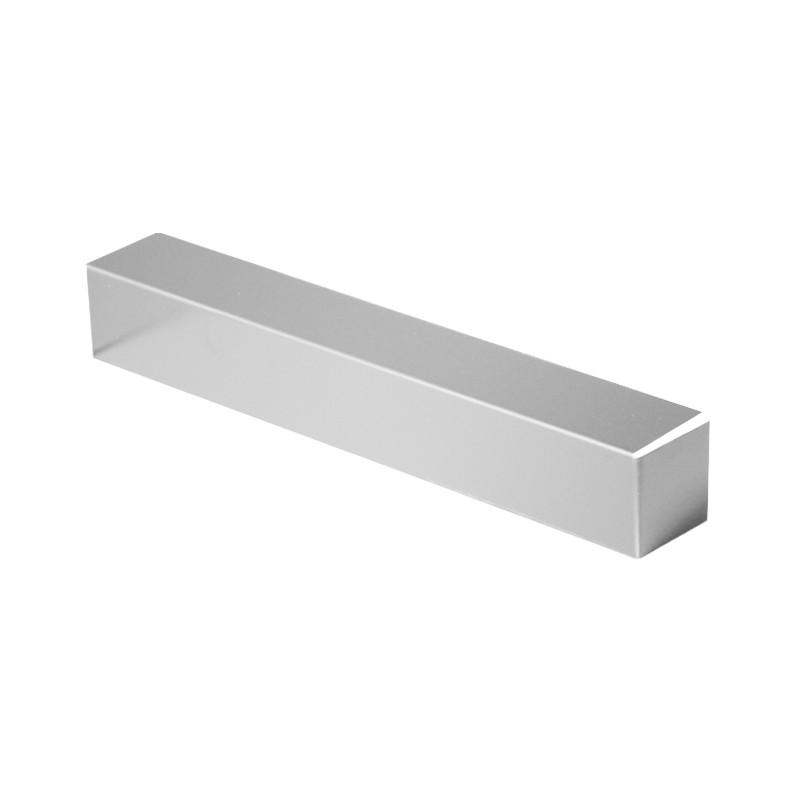 Embout couvertine aluminium 1 mm Gris métal 9006