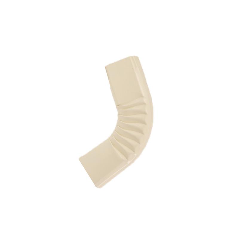 Coude frontal (A) intérieur aluminium lisse sable