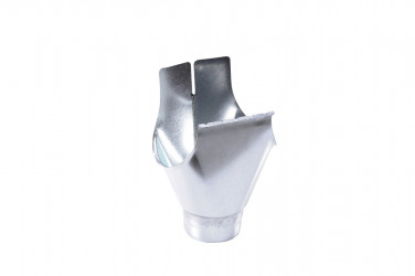 Naissance universelle  à agrafer développé 25/80 acier galva brut