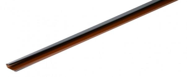 Couvre joint pour sous-face aluminium gris ardoise 7016 2,5 mètres