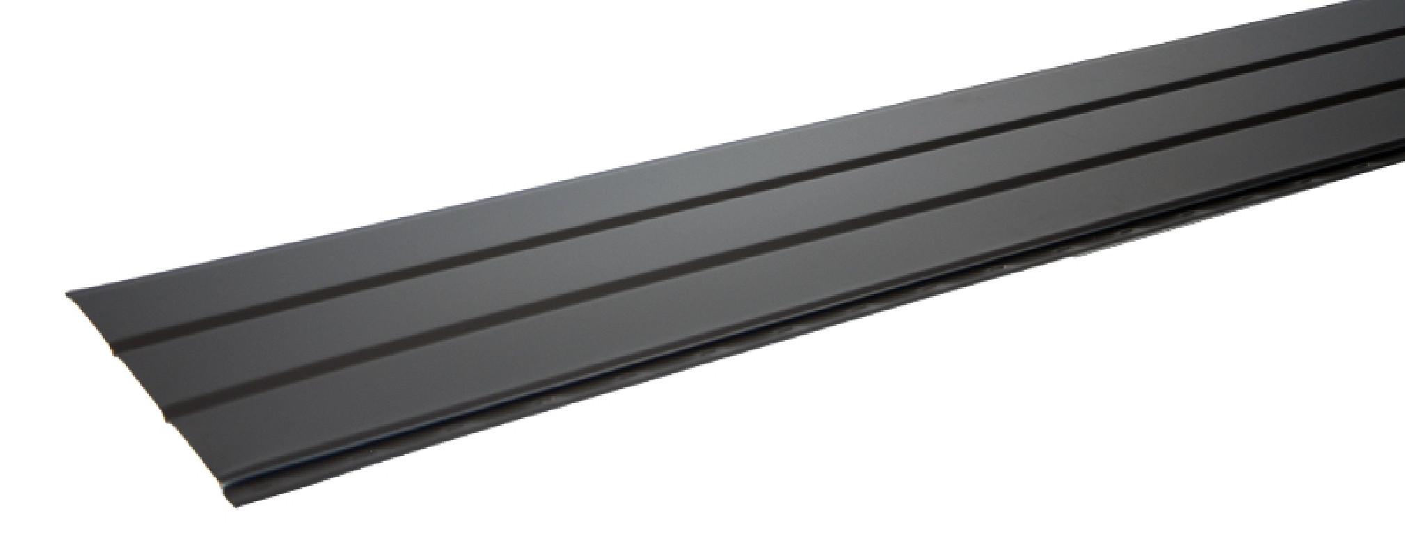 Sous-face Aluminium 356 mm gris ardoise 7016 2 mètres