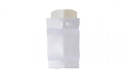 Angle intérieur 135° gouttière aluminium blanc G300