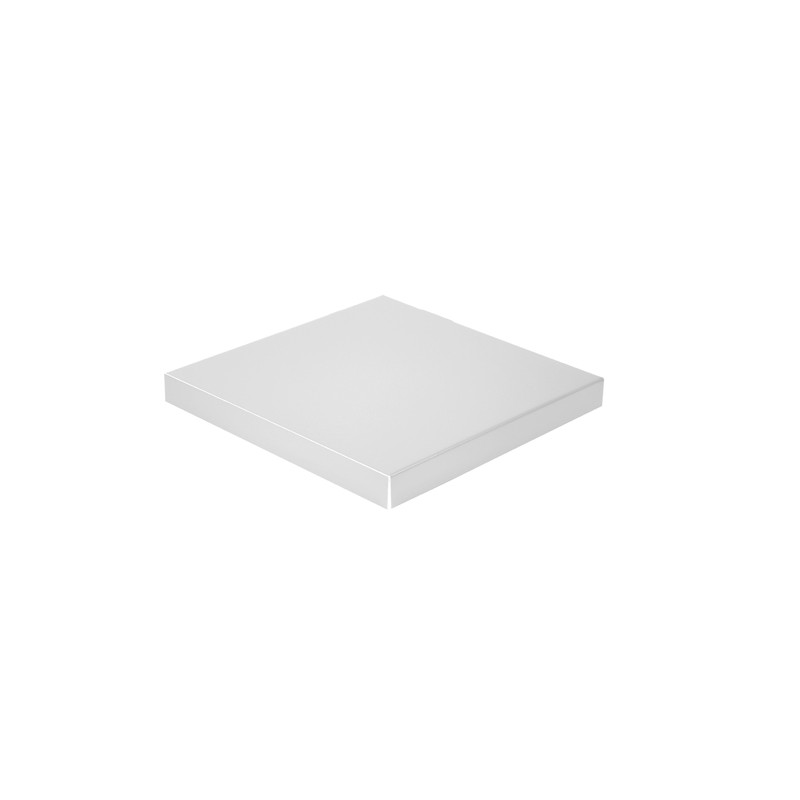 Chapeau Aluminium 1 mm gris métal