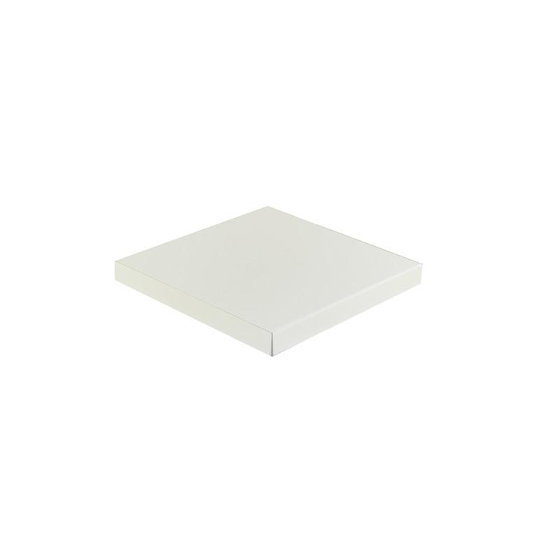 Chapeau Aluminium 1 mm blanc 9010