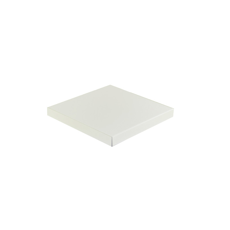 Chapeau Aluminium 1 mm blanc RAL 9010