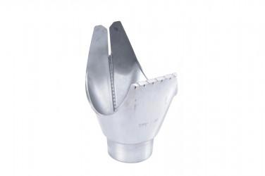 Naissance universelle à agrafer zinc 33/80 pour Gouttiere Zinc dev 33