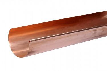 Gouttière cuivre demi-ronde 33 - 4 mètres