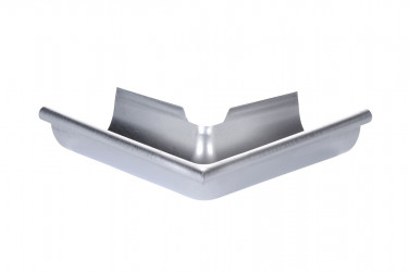 Angle sortant  développé 33 zinc