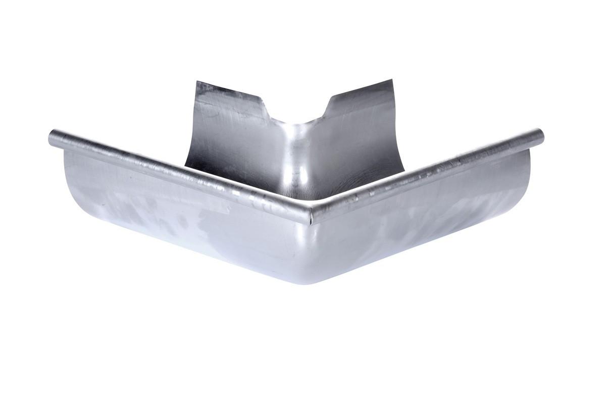 Angle sortant  développé 33 acier galva brut