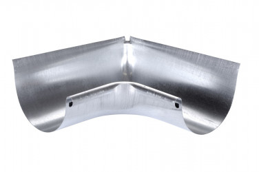 Angle rentrant développé 33 acier galva brut