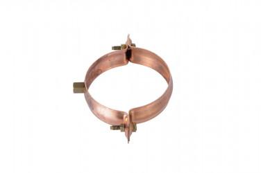 Collier embase taraudé D100MM cuivre