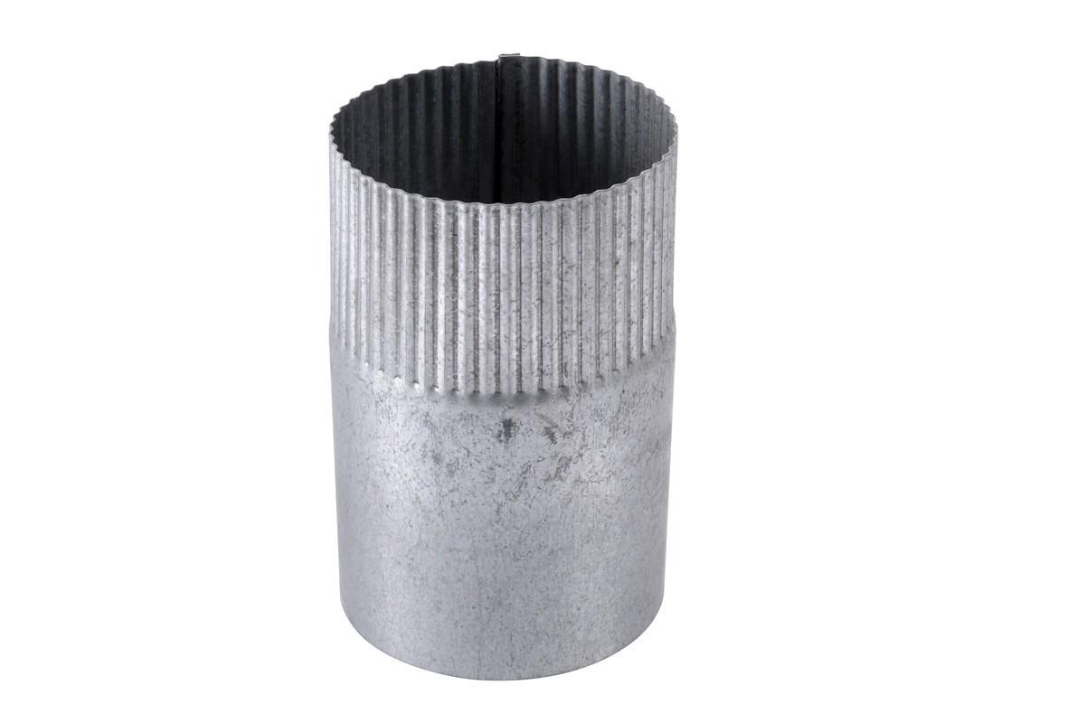 Manchon D100MM acier galva brut