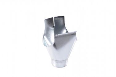 Naissance universelle à agrafer développé 33/100 acier galva brut