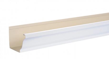 Gouttière 300 4M aluminium blanc