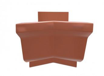 Angle intérieur 135 ° aluminium cuivre rosé