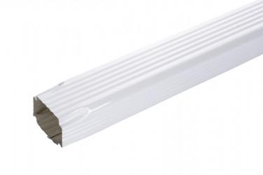 Tuyau de descente 60 X 80 2M aluminium blanc