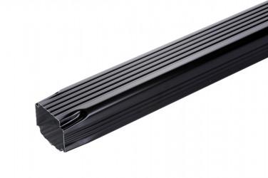 Tuyau de descente 60 X 80 2M aluminium noir