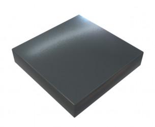 Chapeau Aluminium 1 mm gris ardoise 7016
