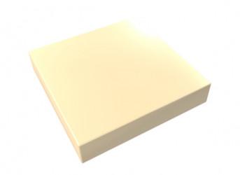 Chapeau Aluminium 1 mm sable 1015