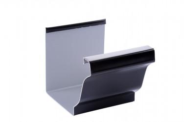 tuyau de descente aluminium noir 2ml brico toiture. Black Bedroom Furniture Sets. Home Design Ideas