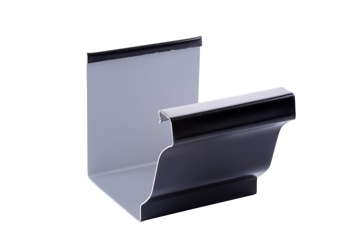 Jonction gouttière 300 aluminium noir