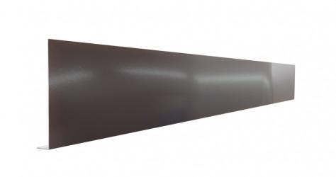 Pliage Aluminium de finition en L brun - 2M