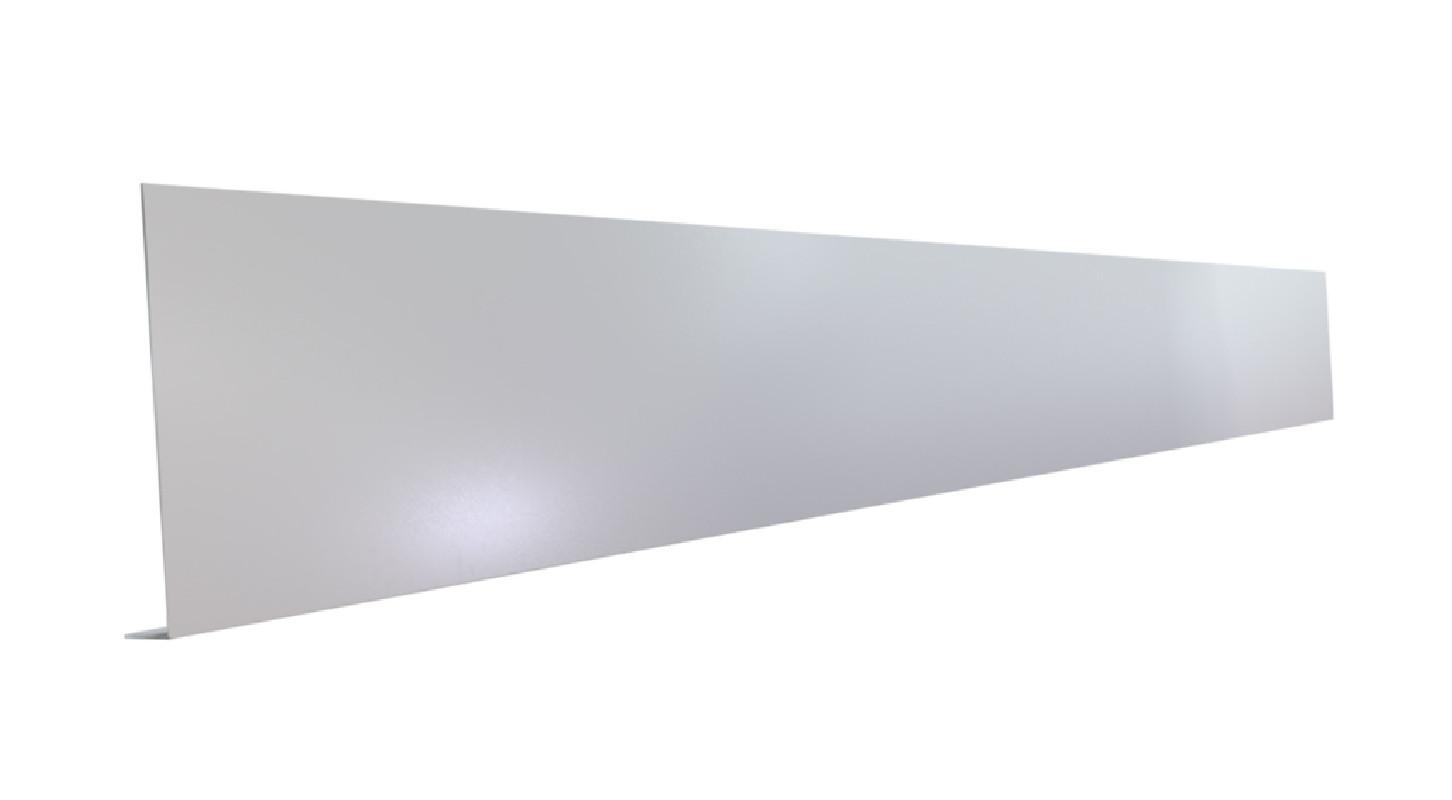 Pliage Aluminium de finition en L gris métal - 2M