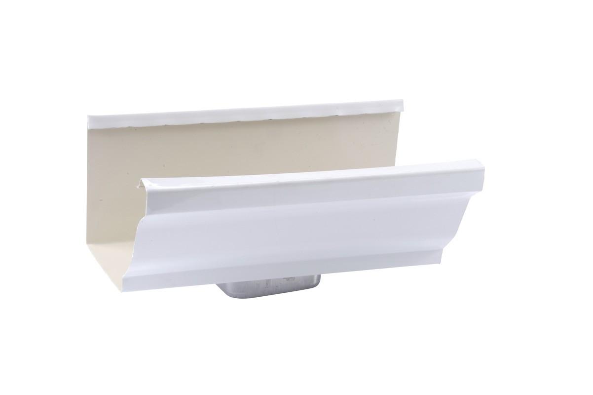 Naissance frontale 60 X 80 aluminium blanc