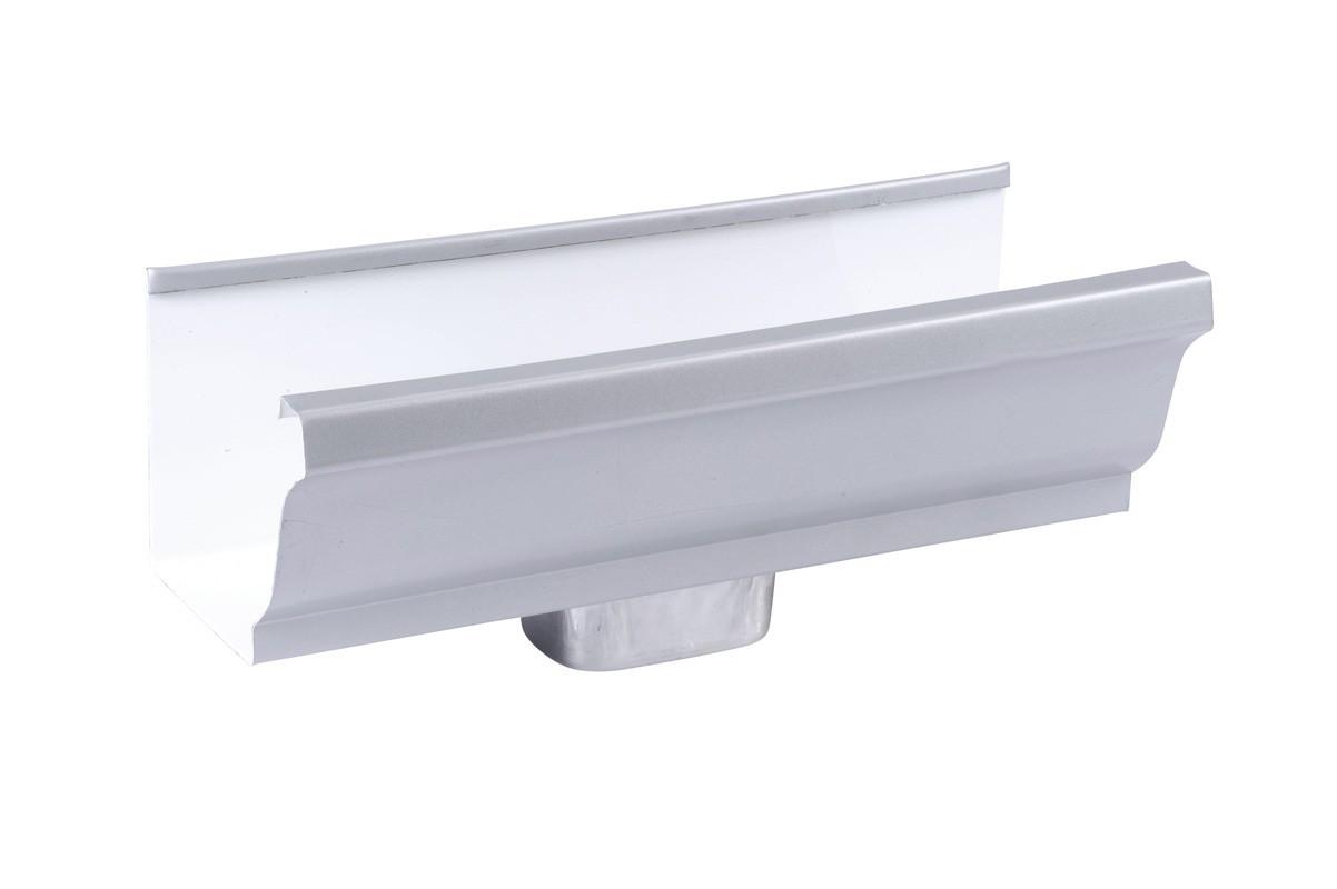 Naissance frontale 60 X 80 aluminium gris
